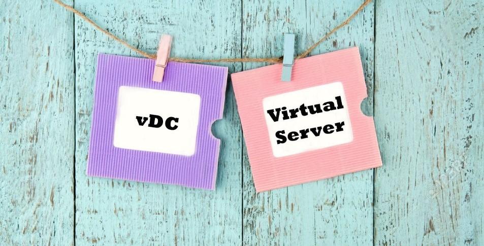 Отличия виртуального сервера от виртуального ЦОД