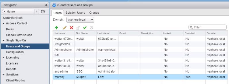 Управление учетными записями пользователя