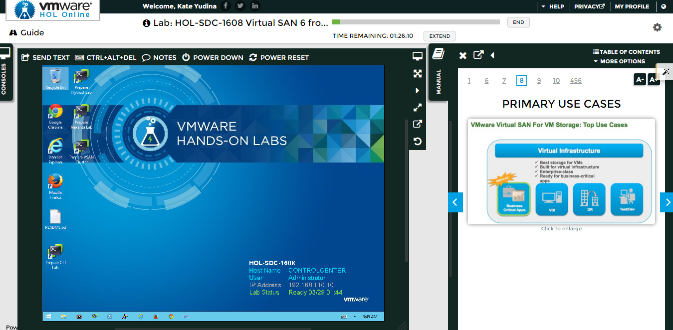 Стенд для знакомства с гиперконвергированной инфраструктурой VMware