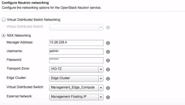 Конфигурация сетевых параметров для сервиса OpenStack Neutron