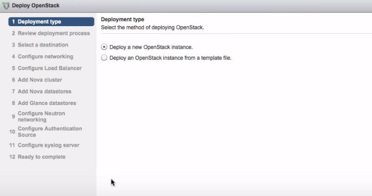 Выбор метода развертывания OpenStack