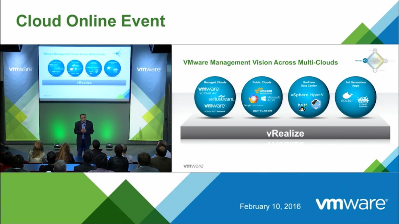 Новые возможности vRealize Suite 7.0